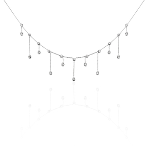 Collier Or Blanc Devia Oxydes